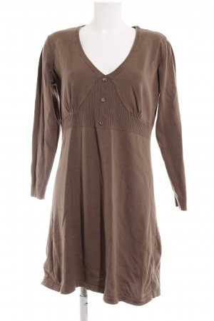 Aniston Longsleeve Dress grey brown casual look