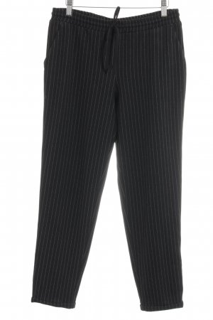 Aniston Sweat Pants black-white striped pattern casual look
