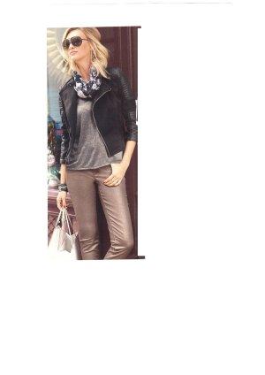 Aniston Top silbergrau