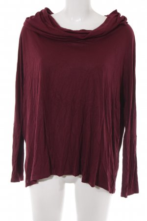 Aniston Boatneck Shirt purple casual look