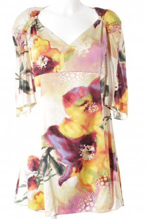 Anja Gockel Blusa de manga corta estampado abstracto elegante