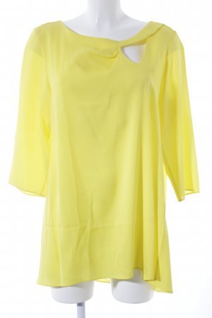 Anja Gockel Blusa larga amarillo elegante