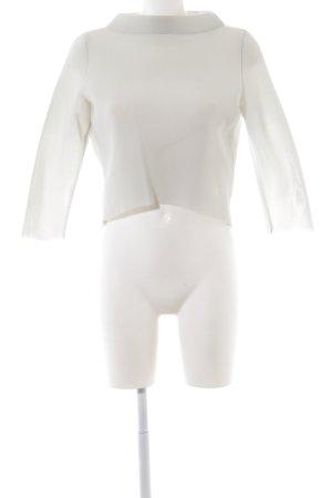 Anja Gockel Mesh Shirt white elegant