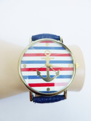 Anker Armbanduhr Lederuhr Lederarmband Uhr