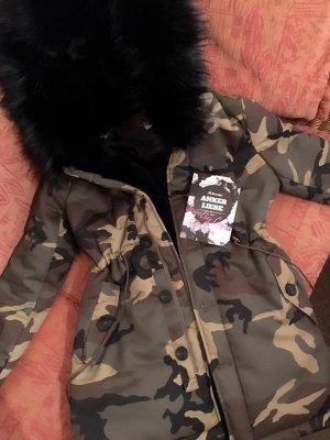 Anker Liebe Camouflage Parker (Kunstfell!)