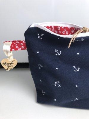 Anker Tasche Neu Jersey Baumwolle Reisetasche Reise Kosmetik Kosmetiktasche Neu