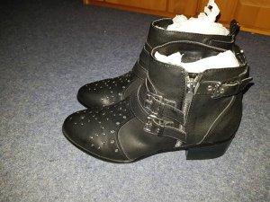 Ankle Anke Boots Only schwarz neu Gr. 40 kurze Stiefel Schuhe Damen
