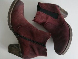 ankle boot Gr. 38 bordeaux Rot