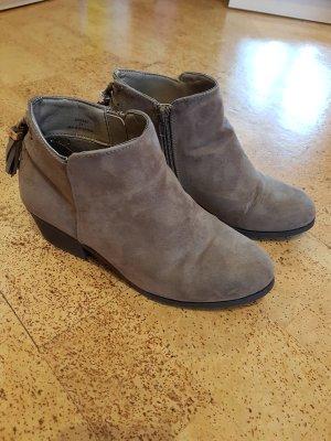 Ankle Boot Gr. 38 graubraun