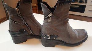 AS98 Low boot gris clair-gris