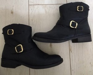 Report signature Boots black imitation leather