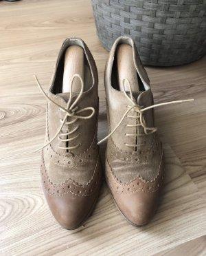 Ankle Boots aus Velours Leder