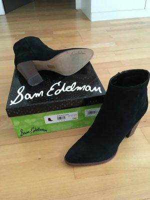 Ankle Boots Black Suede