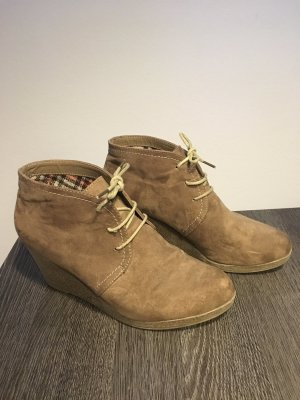 Ankle Boots braun Gr. 41