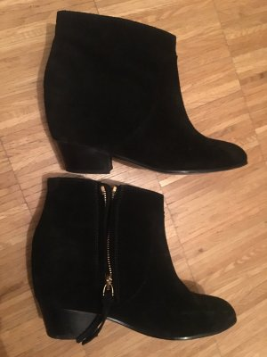 Ankle Boots Closed, schwarz, Gr.37