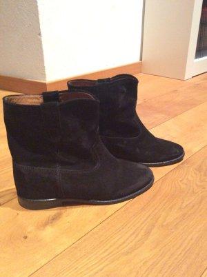 Isabel Marant Étoile Botas de tobillo negro