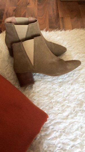 Ankle Boots Desert Kiomi Nude Braun Echtleder