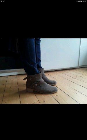 Ankle Boots Gr 42 in Wildlederoptik
