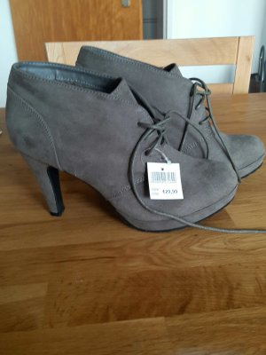 Ankle Boots grey brown