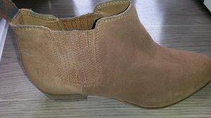 ankle boots Größe 39 camel Farbendene