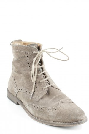 Low boot marron clair style campagnard