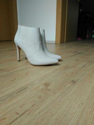 Ankle Boots Hellgrau