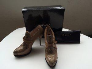 Ankle Boots in beige/gold von Escada