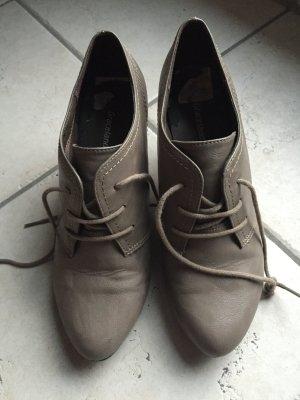 Ankle Boots in grau-braun Gr. 38