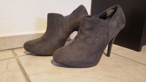 Ankle Boots in grau Gr. 39 11cm