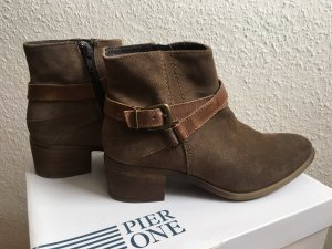 Ankle Boots in taupe von Pier One