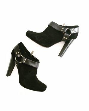 ankle boots • jessica simpson • schwarz • leder • high heels