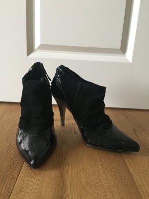 Ankle Boots Lack & Wildleder