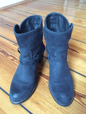 Ankle Boots black leather