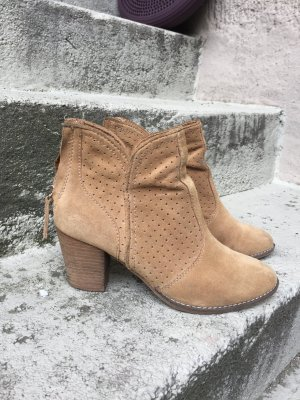 Ankle Boots Lederbooties Coacella Festival Style