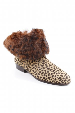 Ankle Boots Leomuster Animal-Look