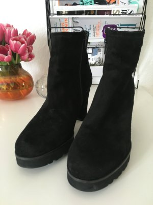 Ankle Boots mit Plateau