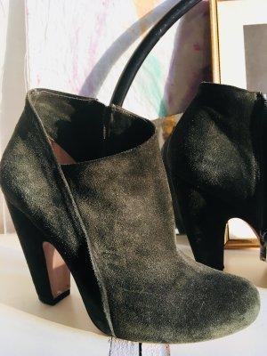 Ankle Boots ** Pure Lopez ** dunkelgrün ** HAMMER ** Gr. 38