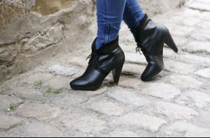 Ankle Boots Schnürschuhe