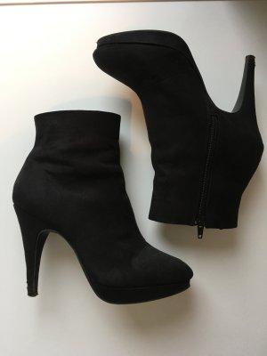 Ankle Boots schwarz H&M Gr. 38
