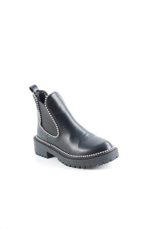 Botas de tobillo negro look Street-Style