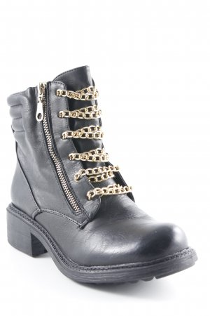 Ankle Boots schwarz Urban-Look