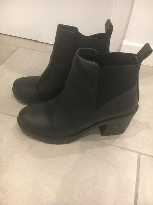 Ankle Boots Schwarz wie NEU