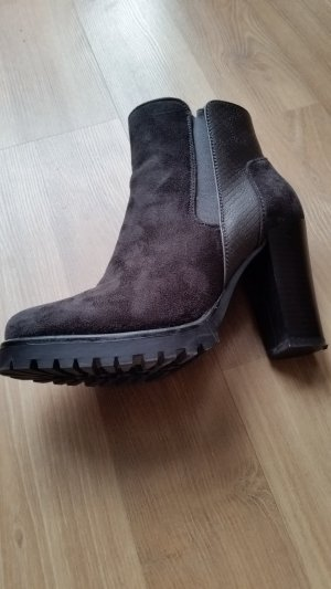 Ankle Boots - Stiefeletten Gr. 38, schwarz