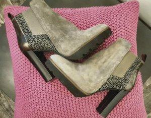 Ankle Boots, Stiefeletten, Plateau, Maripé