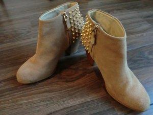 Ankle Boots * Stiefeletten * ZARA * Gr. 39 * Leder * wNEU