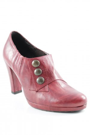 "Ankle Boots ""Tamanho"" dunkelrot"