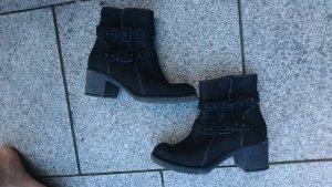 ankle boots Tamaris schw
