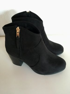 Ankle- Boots (Veloursleder)
