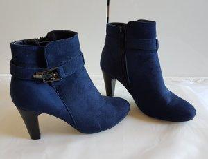 Anna Field Booties dark blue