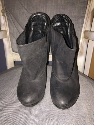 Diesel Ankle Boots black leather